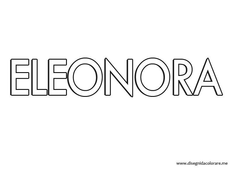 nome-eleonora