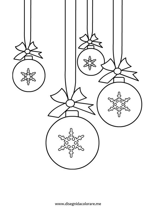 Pallina Albero Natale Disegno Disegni Di Natale 2019