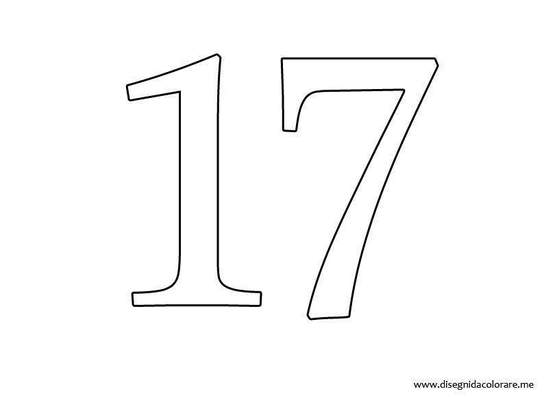 17-numero