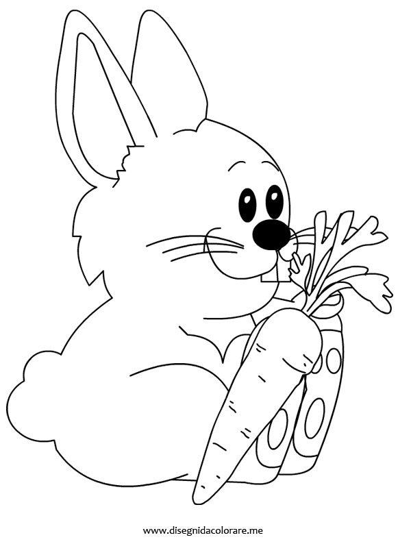 Disegno Coniglio Disegni Da Colorare