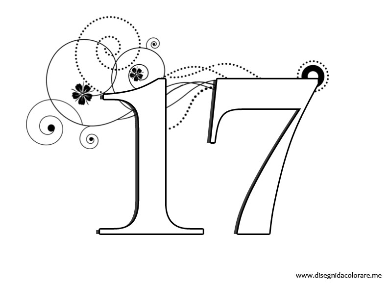 HD wallpapers coloring pages for number 2