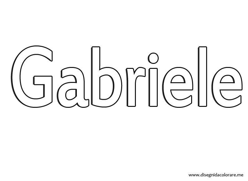 nome-gabriele