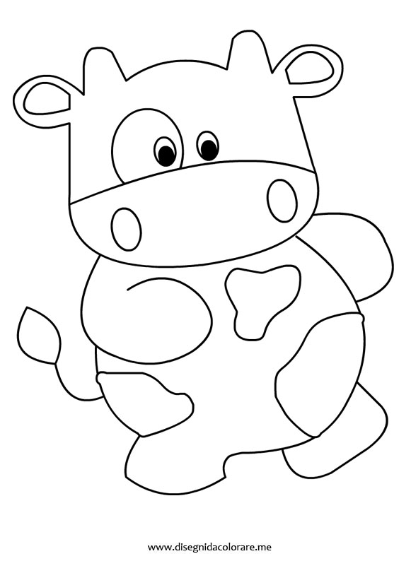 mucca-disegno