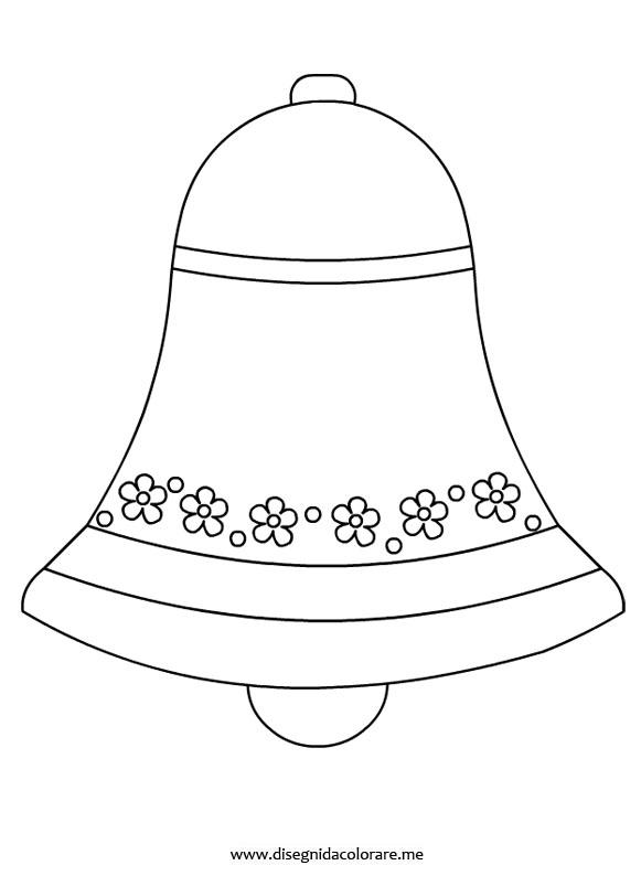 campana di pasqua da stampare