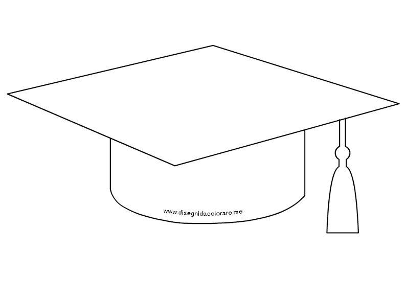 Connu Tocco laurea disegno | Disegni da colorare ZT76