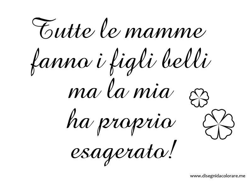 frasi simpatiche mamma