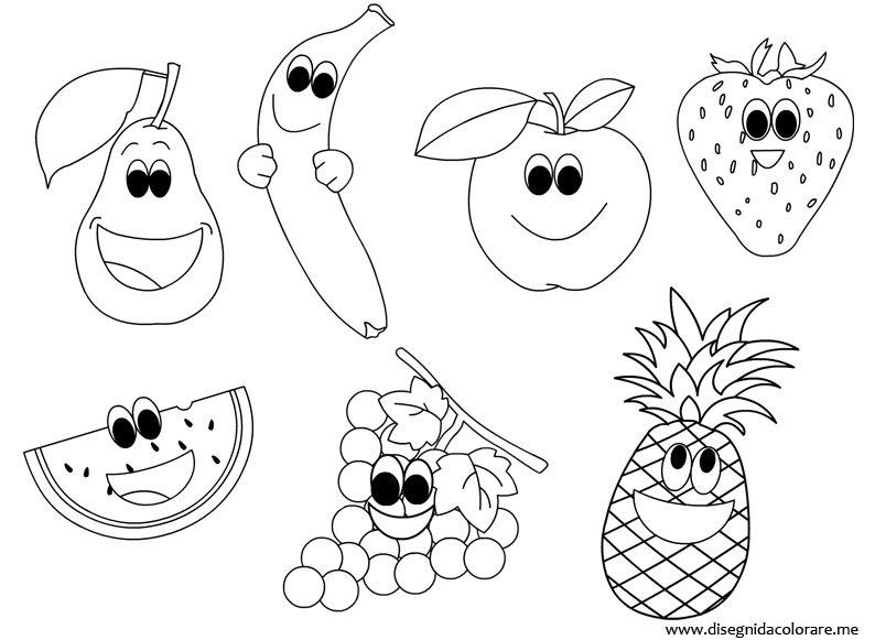 Famoso Disegni Frutta Per Bambini YE37 » Regardsdefemmes KA64