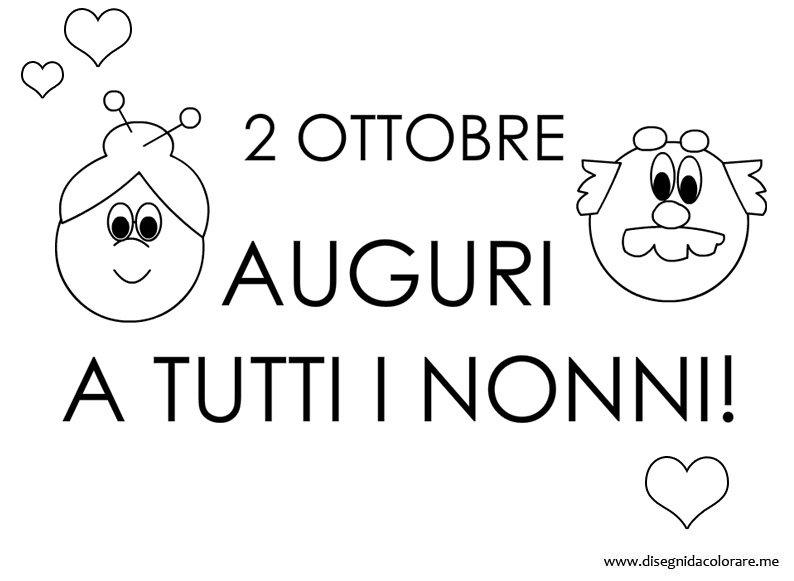 Festa Dei Nonni Del 2 Ottobre Post Breve