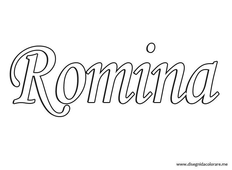 nome-romina