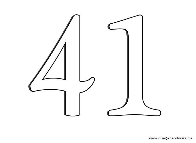 Disegni da colorare di numero 6 sei il numero naturale for Numero di deputati e senatori