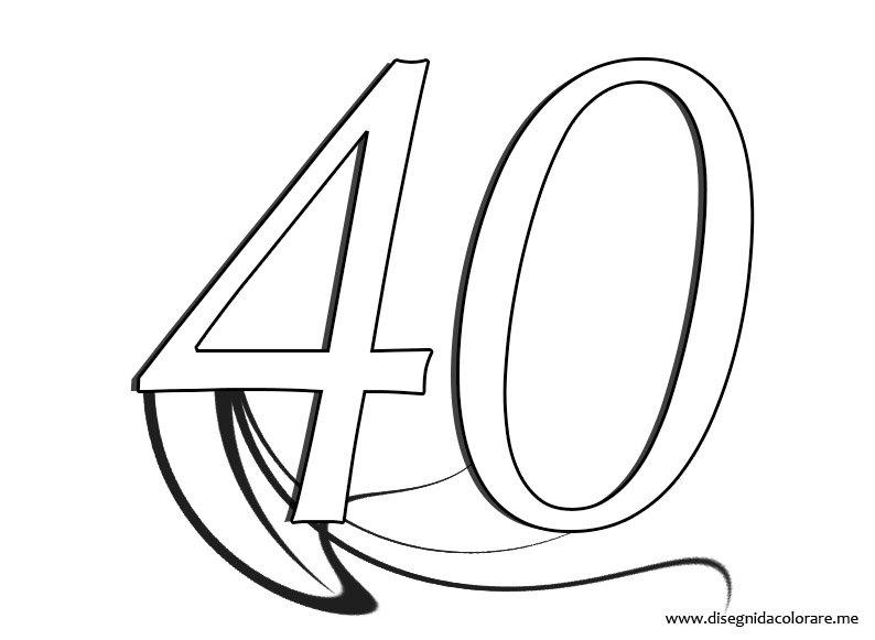 Numeri 40