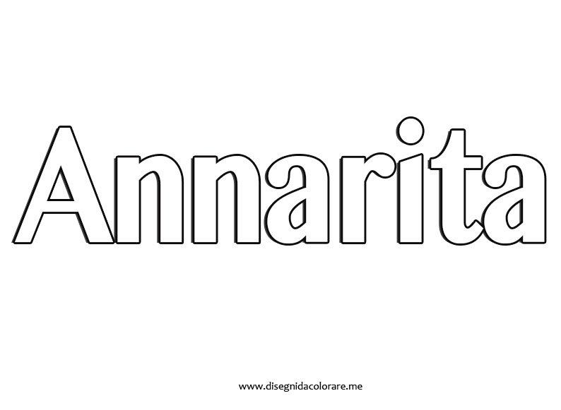 Nome Annarita