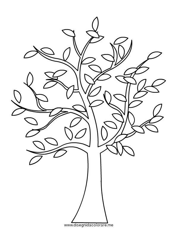Albero con foglie da colorare disegni da colorare - Arte celtica colorare le pagine da colorare ...