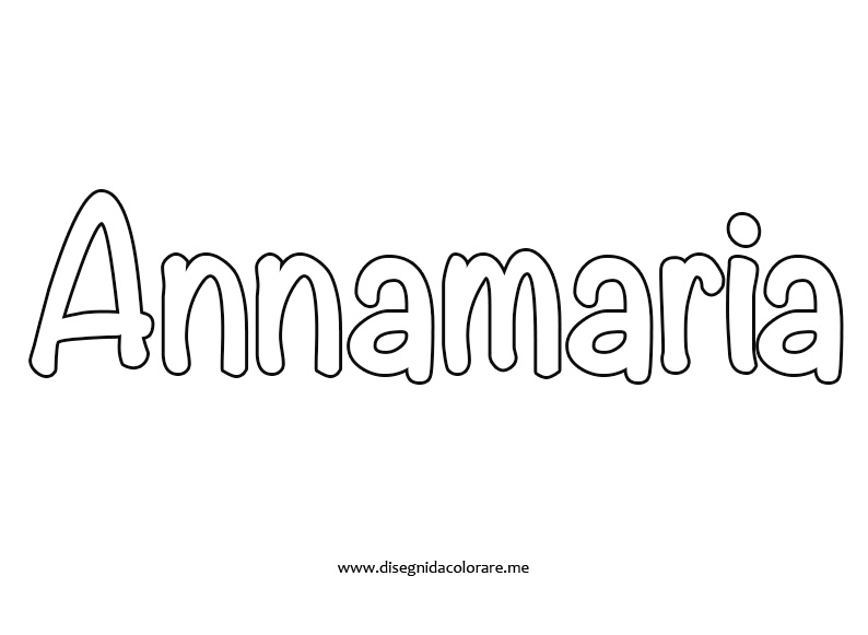nome-annamaria