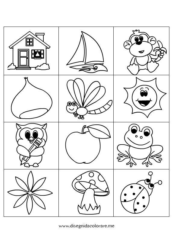 Contrassegni disegni da colorare for Fattoria immagini da colorare