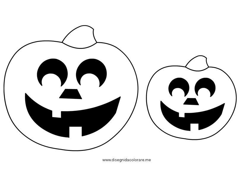 Disegni halloween zucche disegni da colorare - Disegni di zucche ...