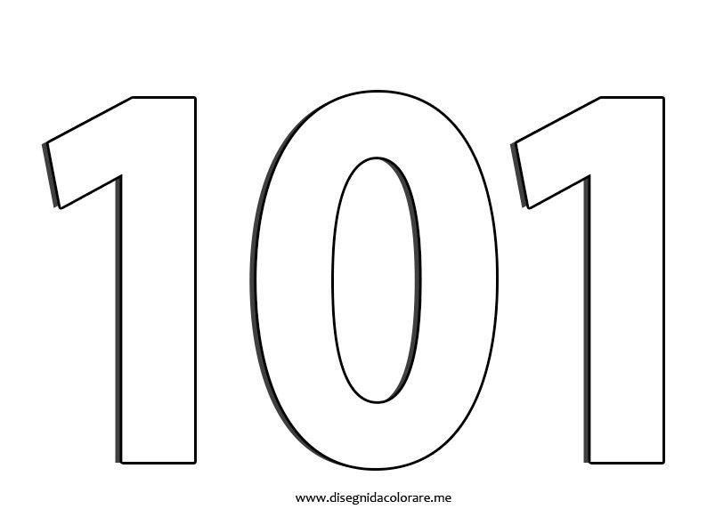 101-numero