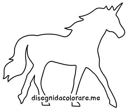 unicorno da colorare
