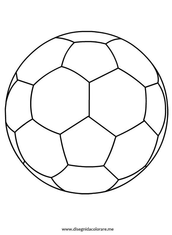 Disegno pallone di calcio da colorare disegni da colorare for Calciatori da colorare per bambini