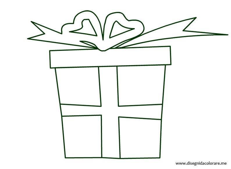 Pacco regalo disegni da colorare for Sole disegno da colorare