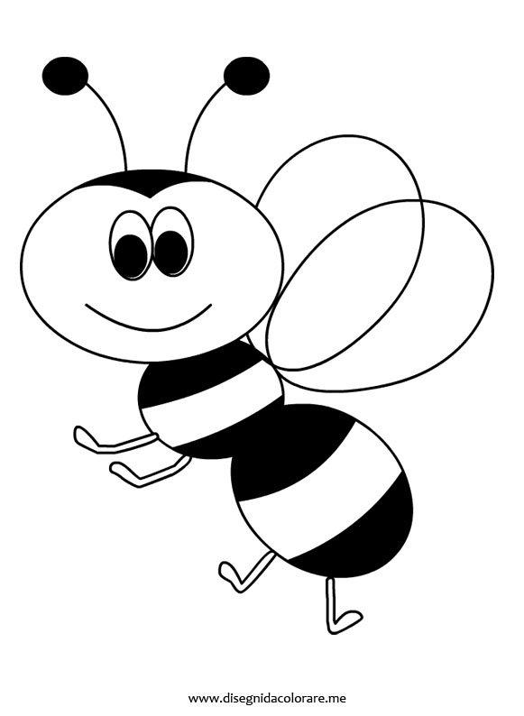disegno ape disegni da colorare