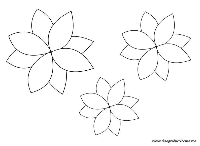 Disegno Fiori Da Colorare Con Google Disegno Di Un Fiore: Fiore Da Colorare Tuttodisegni
