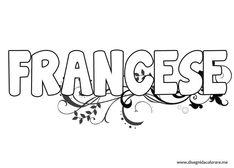 Copertina di francese da colorare disegni da colorare - Immagini in francese per bambini ...