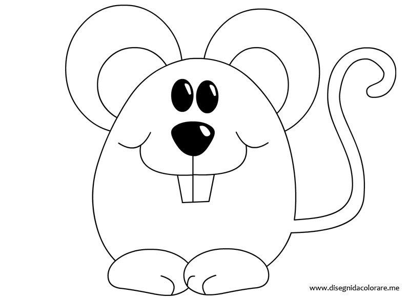 Topo da colorare disegni da colorare for Disegno gatto facile