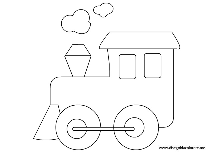 Disegno locomotiva disegni da colorare for Disegno pagliaccio da colorare