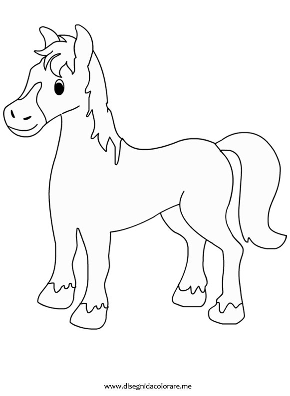 cavallo da colorare disegni da colorare