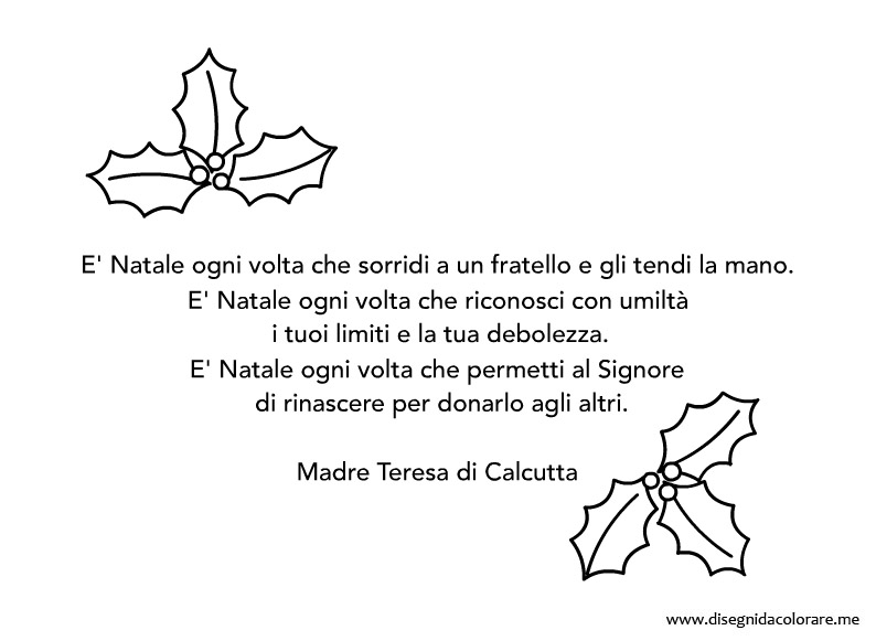 Poesie Sul Natale Di Madre Teresa Di Calcutta Frismarketingadvies