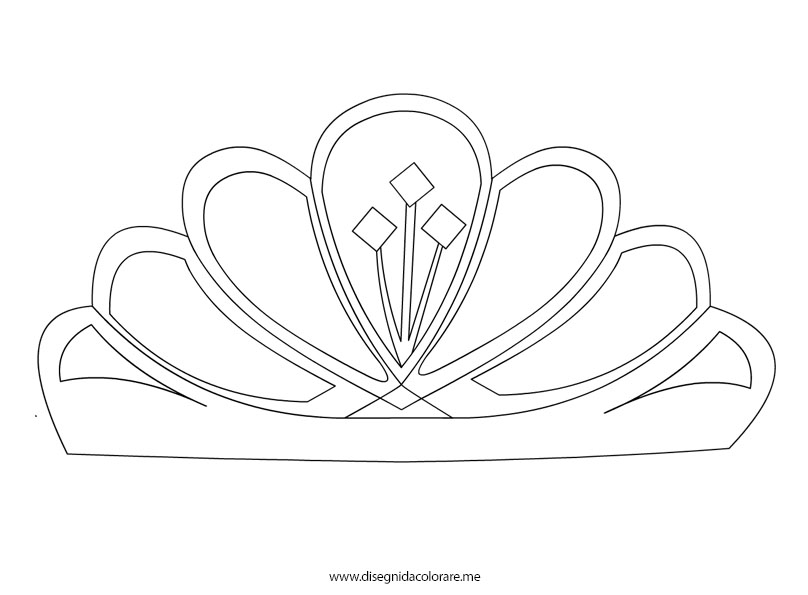 disegno diadema