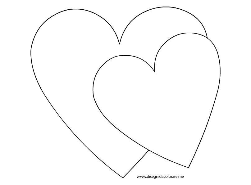 San valentino cuori disegni da colorare for Disegni da colorare cuori
