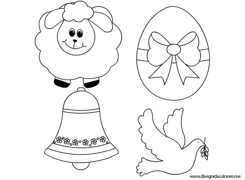 Disegni di pasqua da colorare disegni da colorare for Disegni da colorare di pasqua