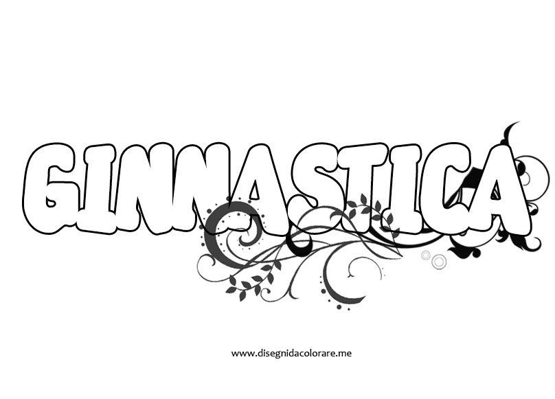 Scritta ginnastica in bianco e nero disegni da colorare for Immagini di murales e graffiti