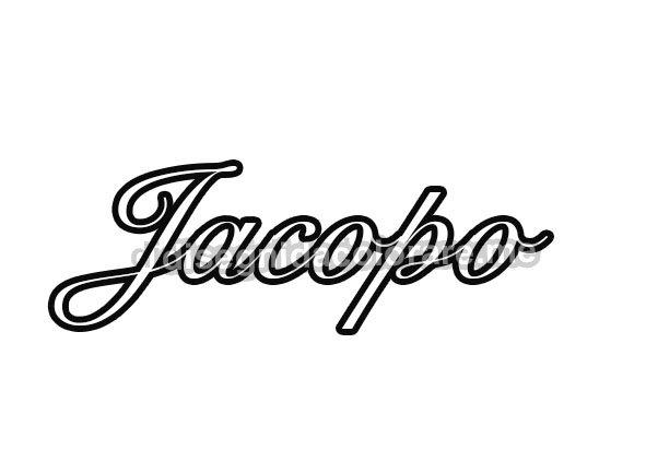 nome Jacopo